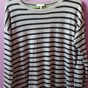 Joie sweater black, grey striped
